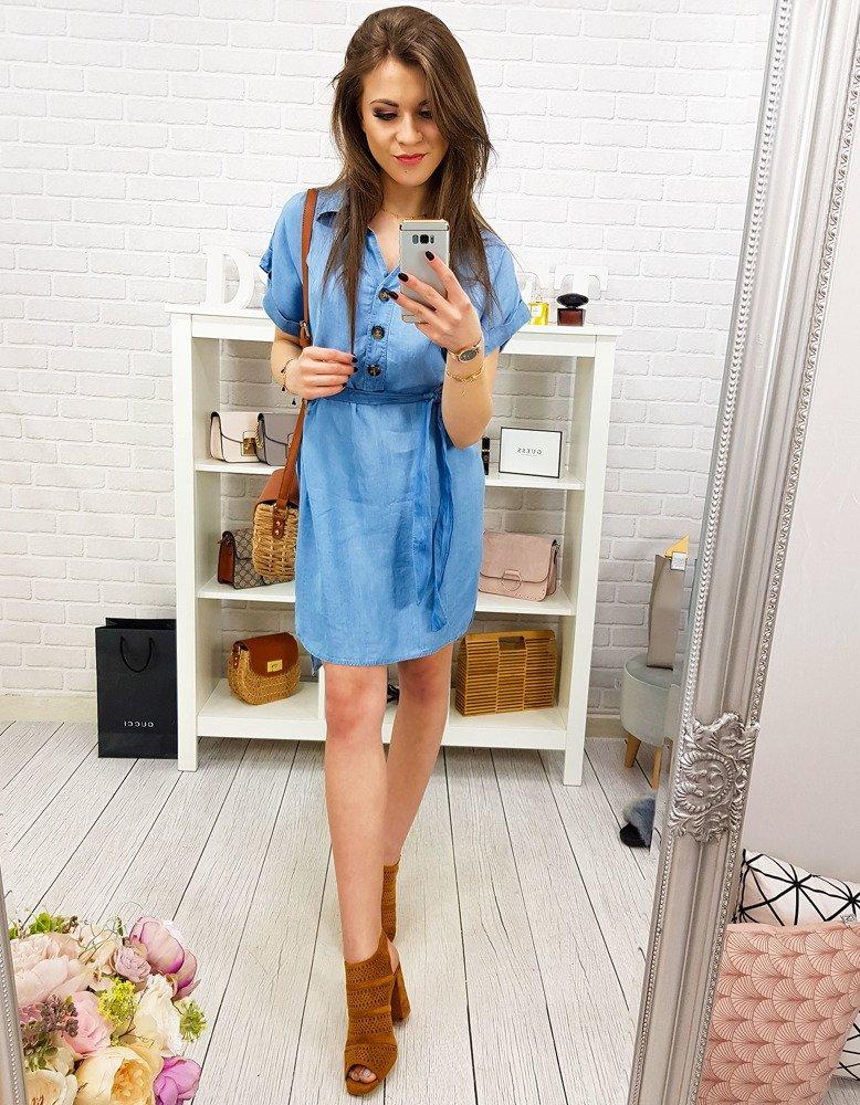 Sukienka damska jeansowa EY0795