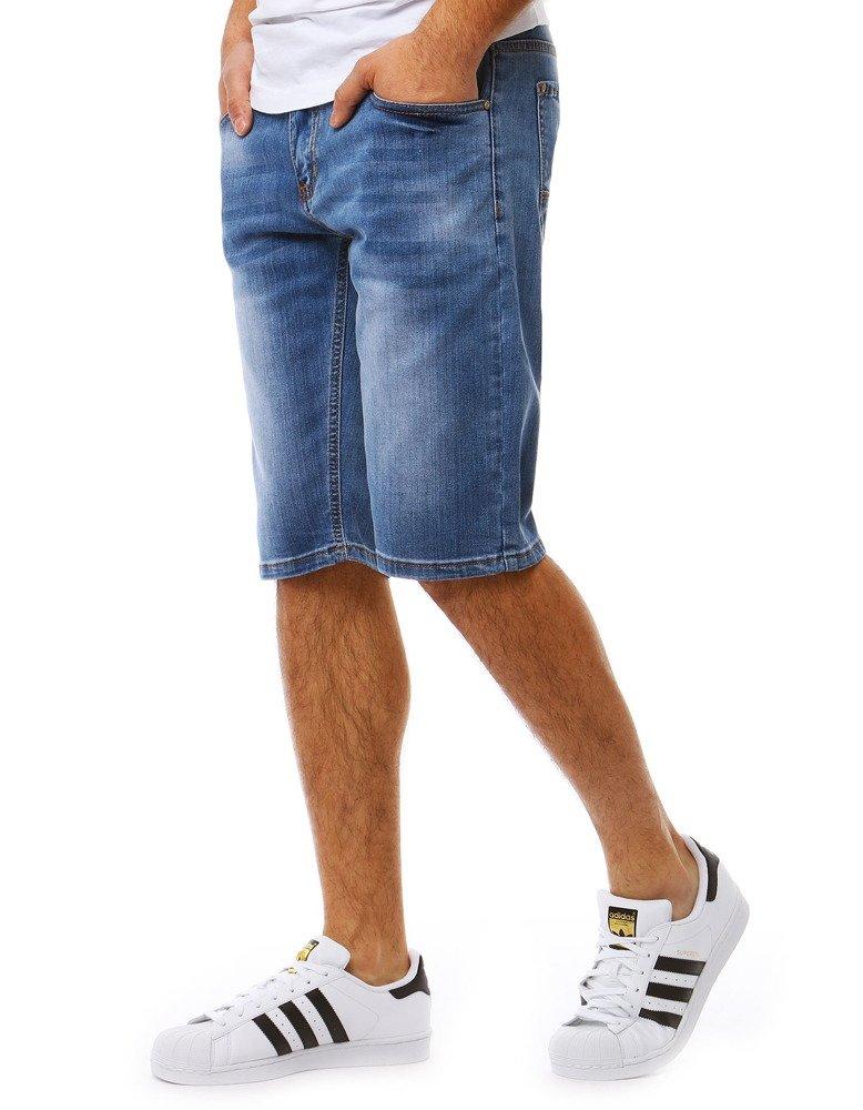 Pánske džínsové kraťasy (sx0818)