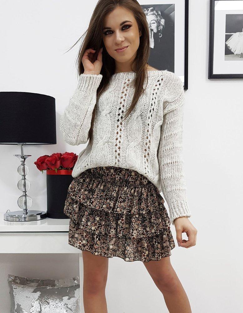 Sweter damski SUSANE jasnobeżowy MY0678