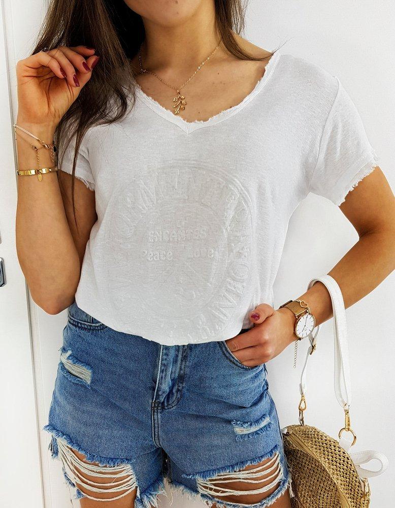 T-shirt damski FORMENTERA biały RY1457