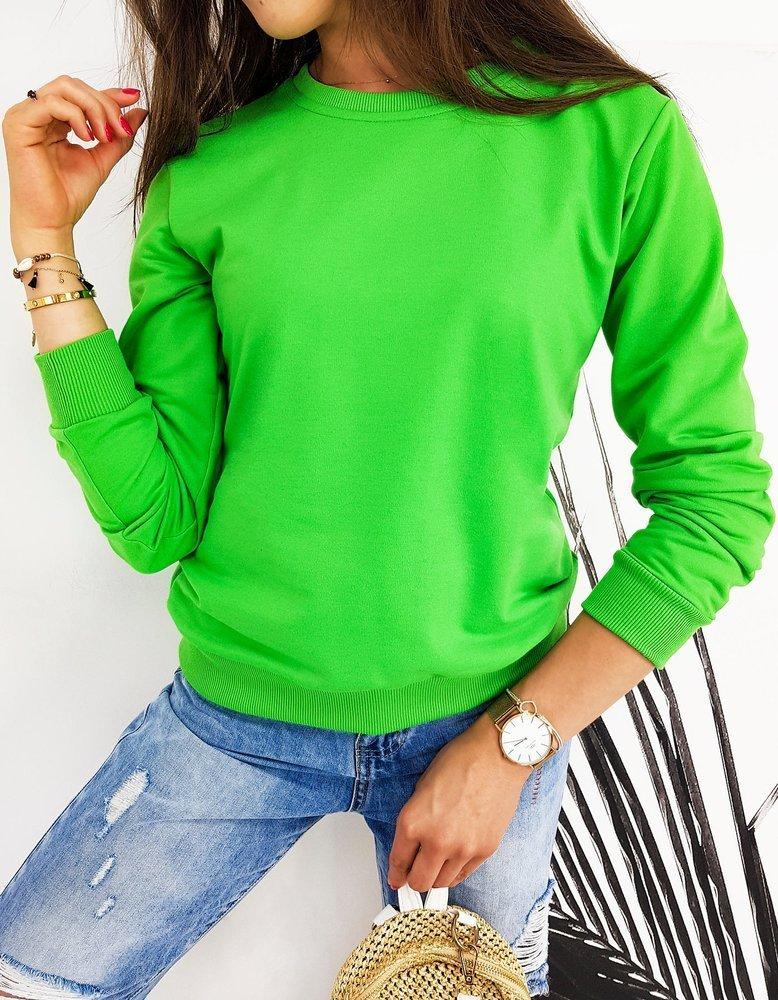 Bluza damska CARDIO zielona BY0436