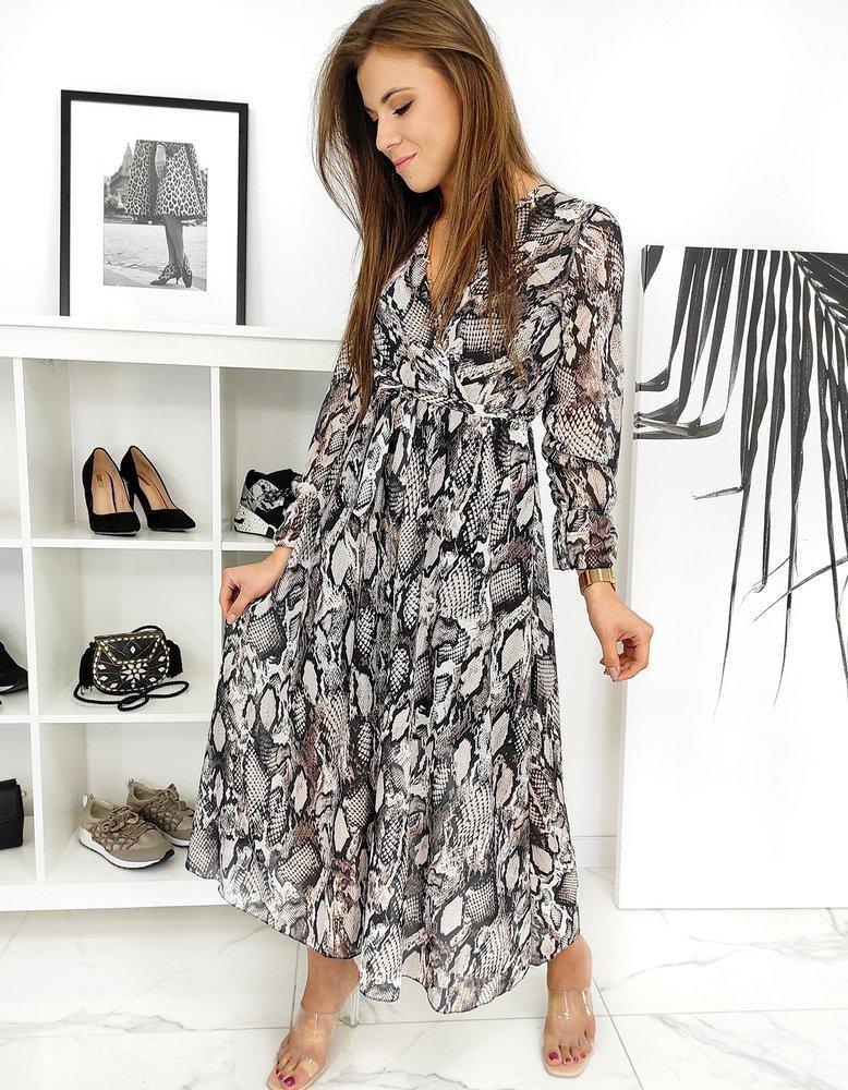 Sukienka Maxi BETHER czarna EY1368