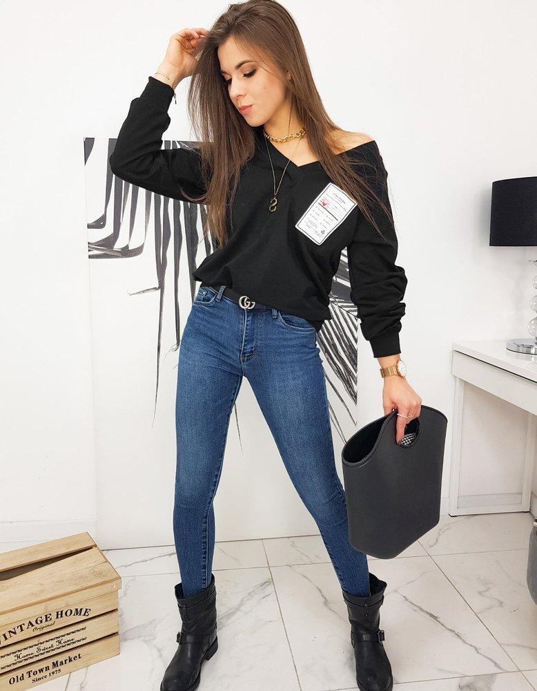 Bluza damska MELLISSA czarna BY0630