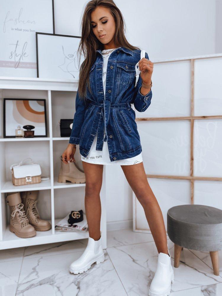 Kurtka damska jeansowa MURIA niebieska Dstreet TY1655