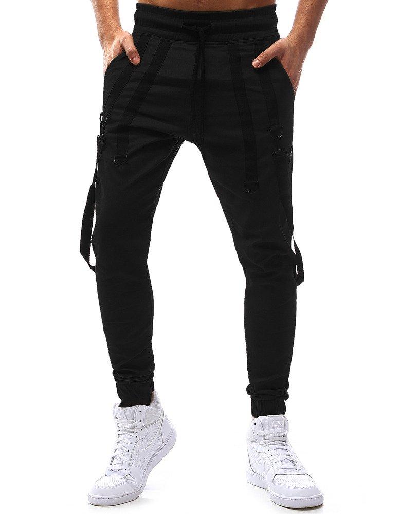 Pánske bežecké nohavice čierne