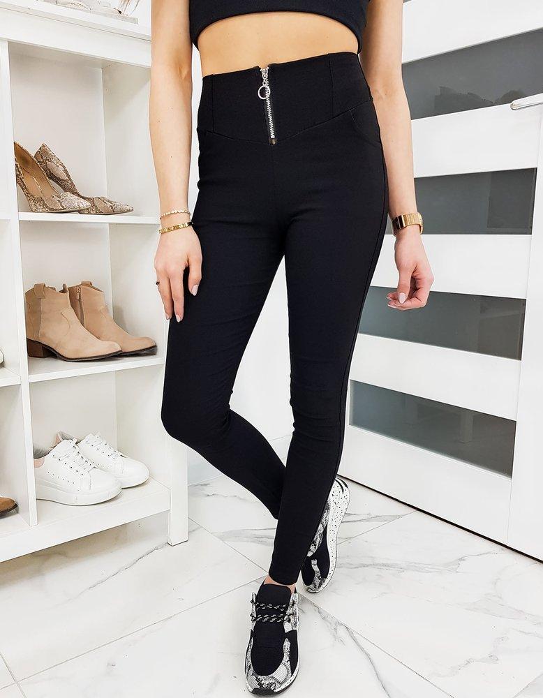 Spodnie damskie tregginsy ONYXIA czarne UY0337