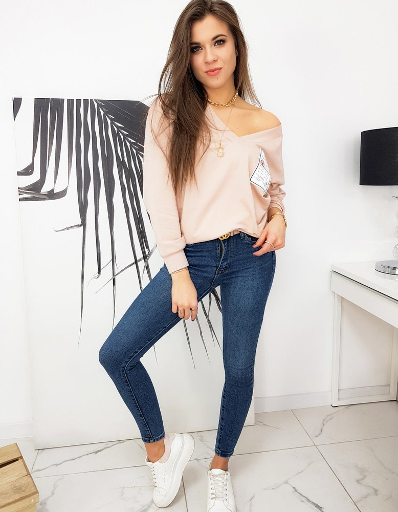 Bluza damska MELLISSA różowa BY0632