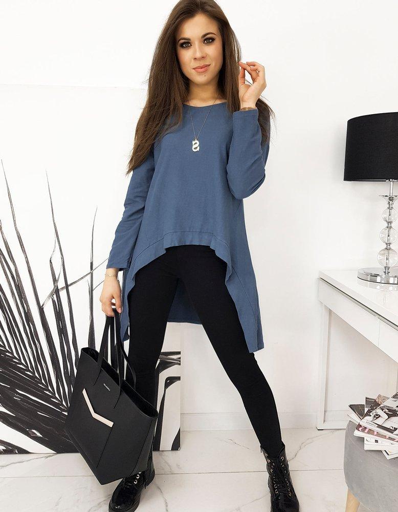 Bluzka damska LOOK jeansowa RY0615
