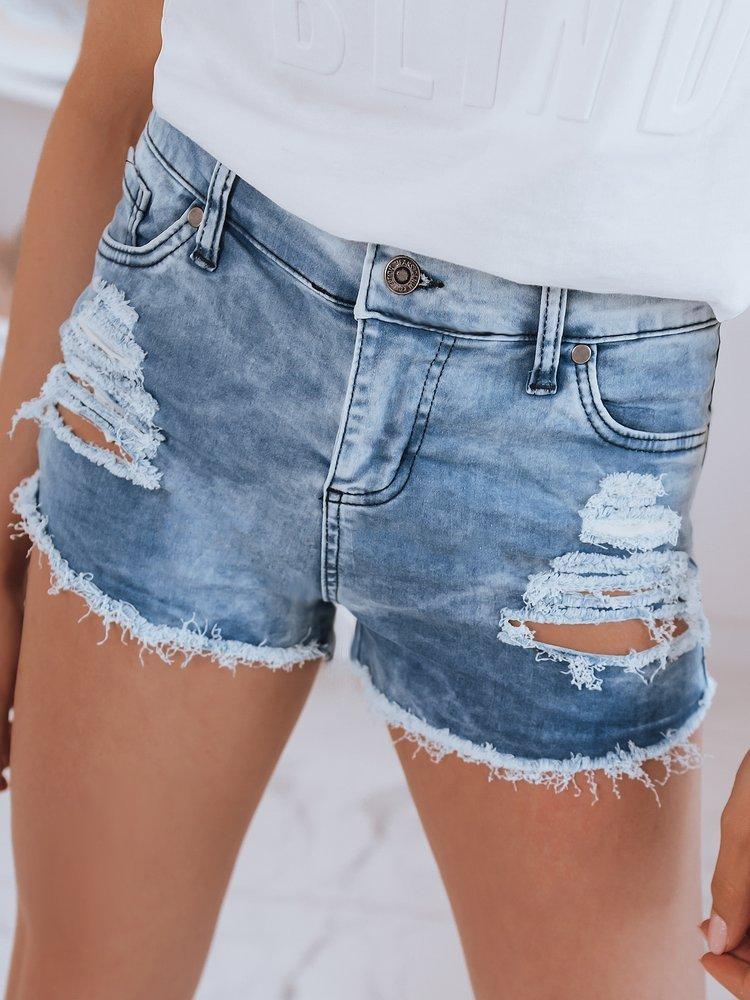 Spodenki damskie jeansowe ZAJA niebieskie Dstreet SY0214