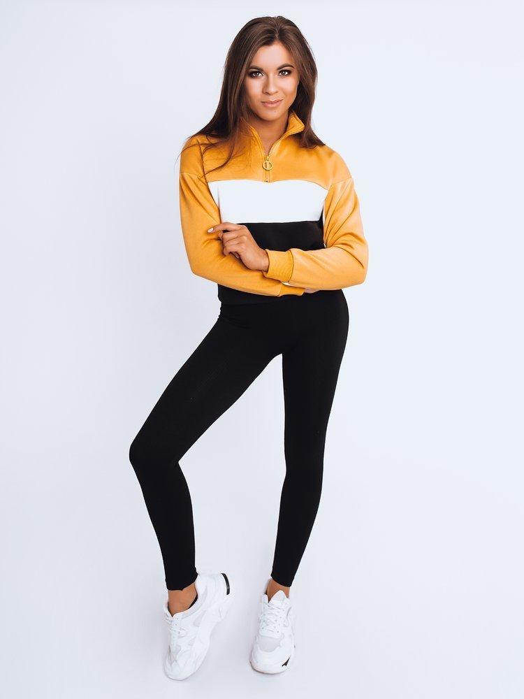 Bluza damska dresowa DESTA żółta Dstreet BY0956