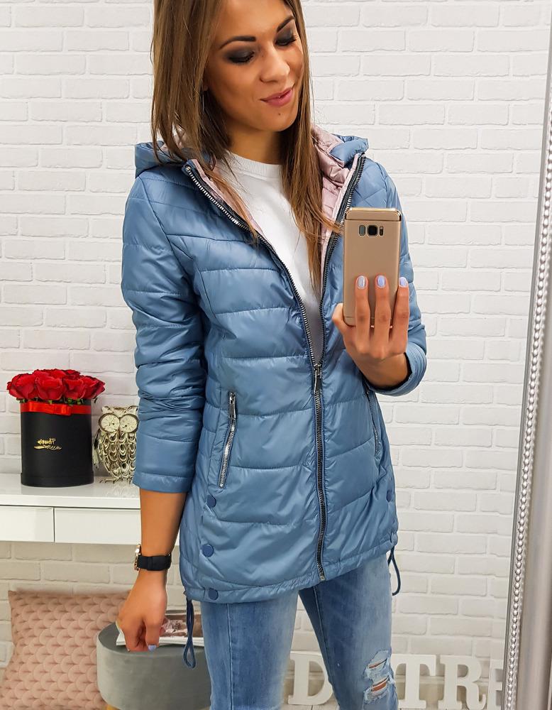 Dámska modrá bunda (ty0210)