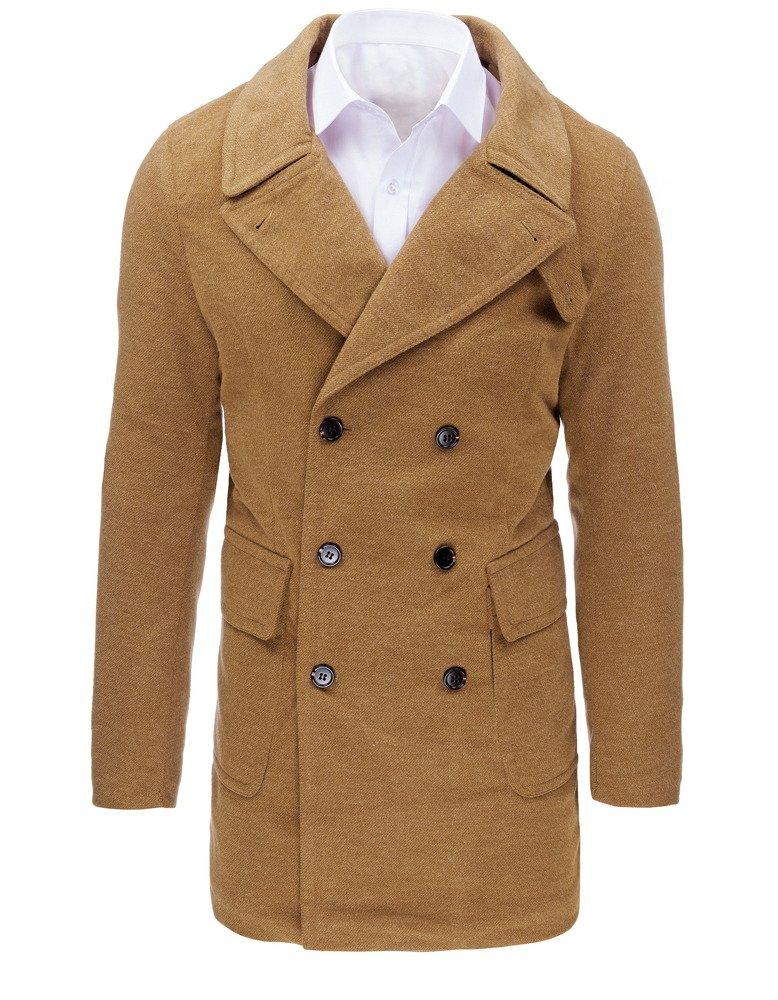 Pánsky kabát zimný béžový