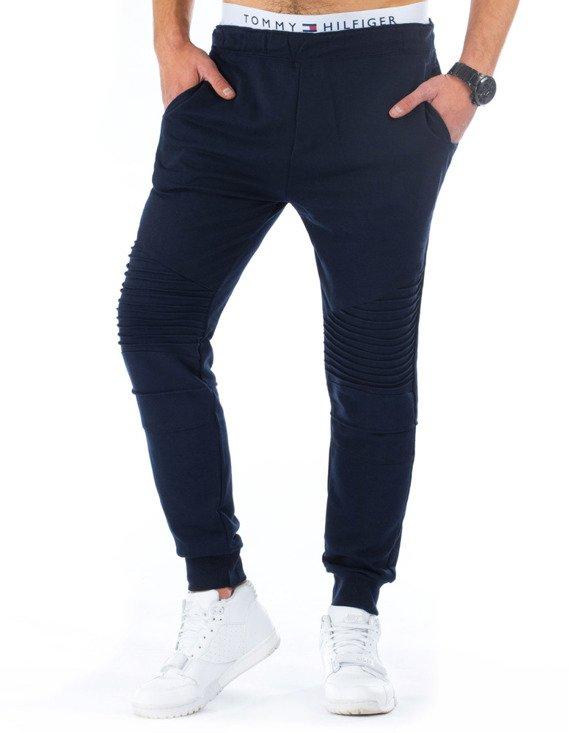 Spodnie Dresowe M Skie Granatowe Ux0230 Sklep Online