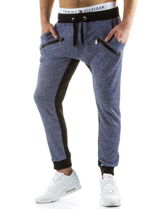 Spodnie M Skie Dresowe Baggy Granatowe Ux0546 Sklep Online