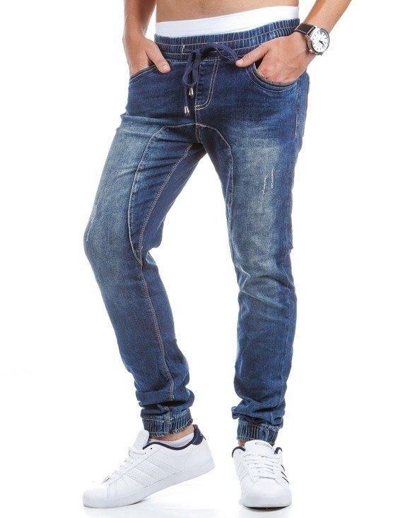 Spodnie M Skie Joggery Jeansowe Ux0407 Sklep Online