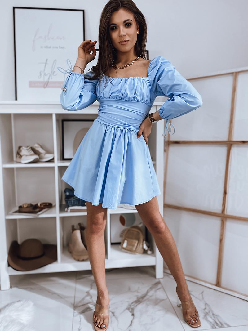 błękitna sukienka dstreet