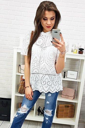 Bluzka damska LADY niebieska (ry0627) sklep online Dstreet.pl