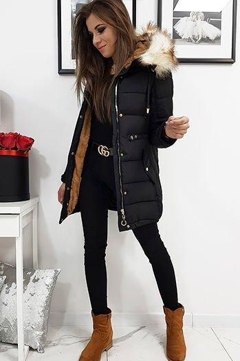 kurtki płaszcze zimowe damskie wyprzedaż stylowo i modnie