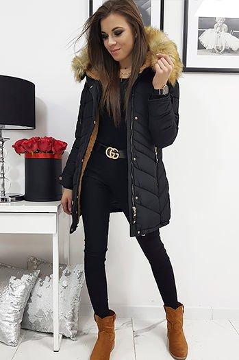 kurtki zimowe damskie dla blondynki