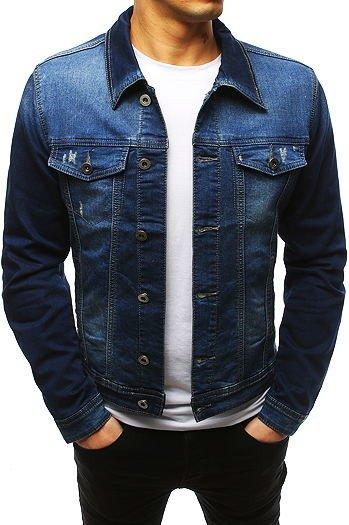 addb1b0c2339b Męskie kurtki jeansowe - tanie i modne: sklep Dstreet.pl
