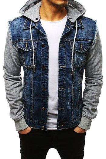 abd24c2d2733e Męskie kurtki jeansowe - tanie i modne: sklep Dstreet.pl