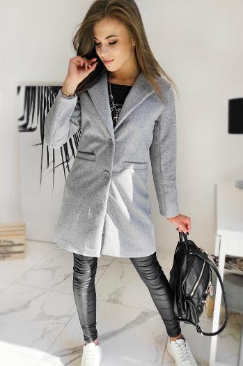 Płaszcz damski BELLA beżowy NY0390 sklep online Dstreet.pl