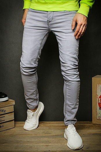 Spodnie męskie jeansowe białe UX1927 sklep online Dstreet.pl