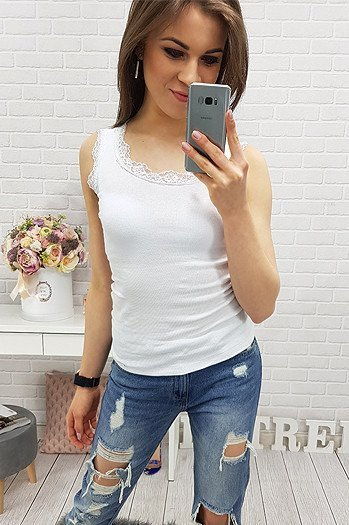 Top BLISS WHITE (ry0312)