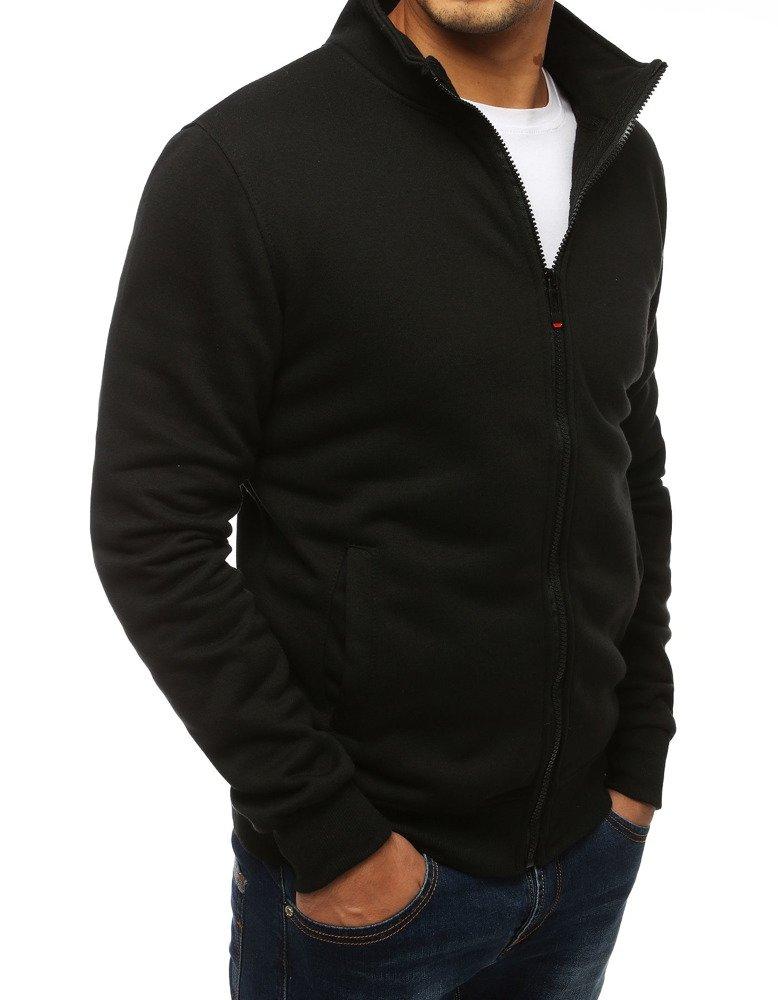 bluza bawełniana rozpinana bez kaptura klasyczna