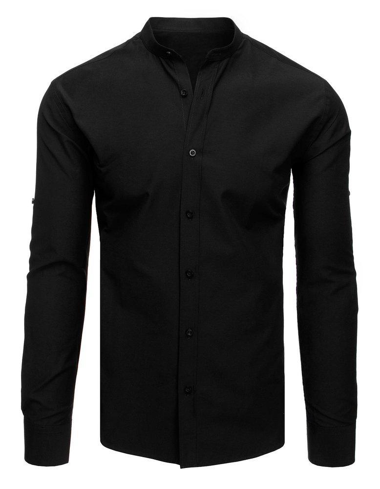 Elegancka koszula męska czarna DX1870 sklep online Dstreet.pl  ffMCB