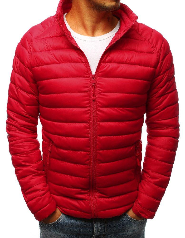 0eb35a1d8d917 Kurtka męska pikowana czerwona (tx2277) - sklep online Dstreet.pl