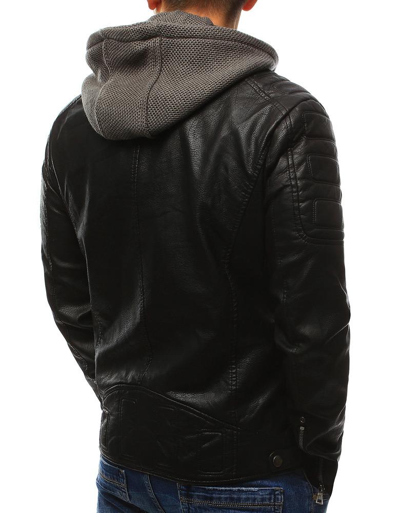 4f5744f416b2a Kurtka męska skórzana czarna (tx2069) - sklep online Dstreet.pl