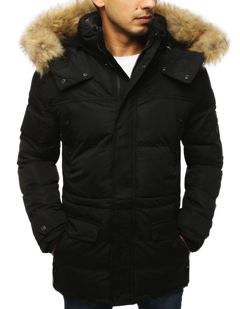 Kurtka męska zimowa czarna TX3115