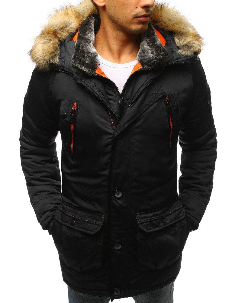 f183c7294627d Kurtka męska zimowa czarna (tx2333) - sklep online Dstreet.pl