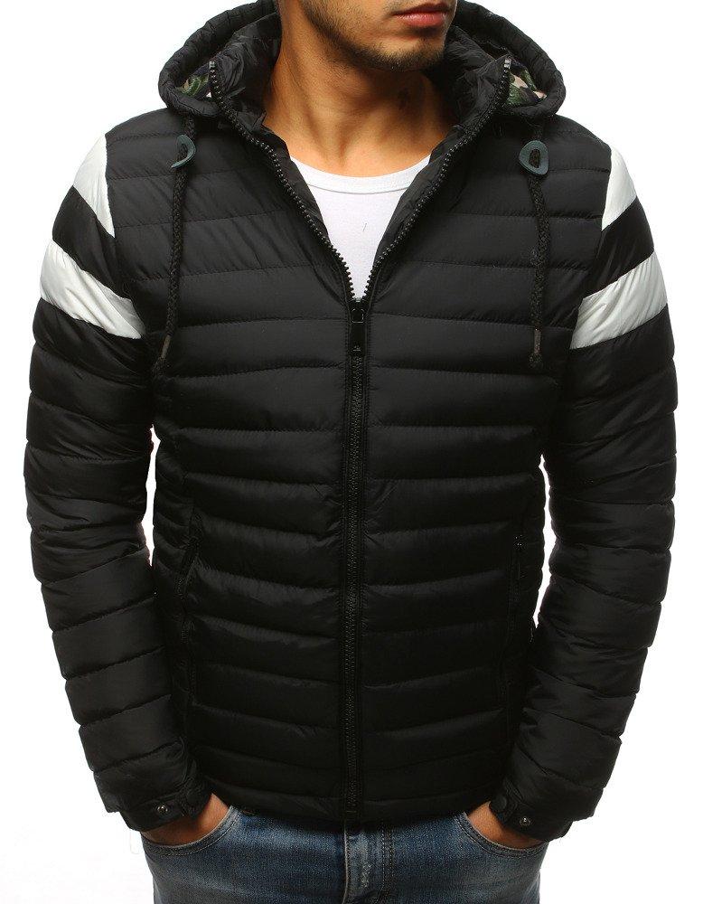 421d7da2185fd Kurtka męska zimowa pikowana czarna (tx2398) - sklep online Dstreet.pl