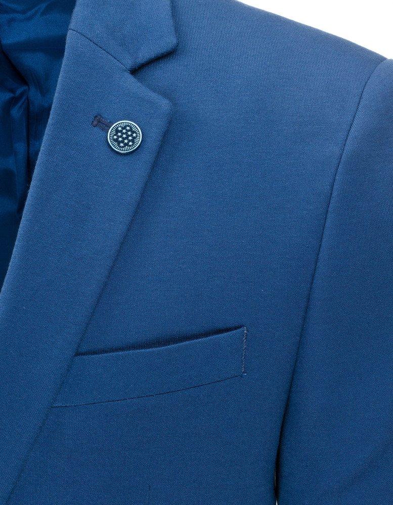 7c21b4d678a07 Marynarka męska casual niebieska (mx0310) - sklep online Dstreet.pl