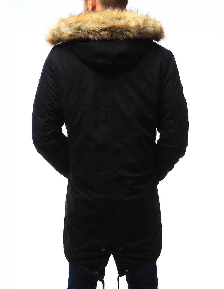 9fed7a7cfda9 Bardzo Męska kurtka parka zimowa czarna (tx2024) - sklep online Dstreet.pl  AD