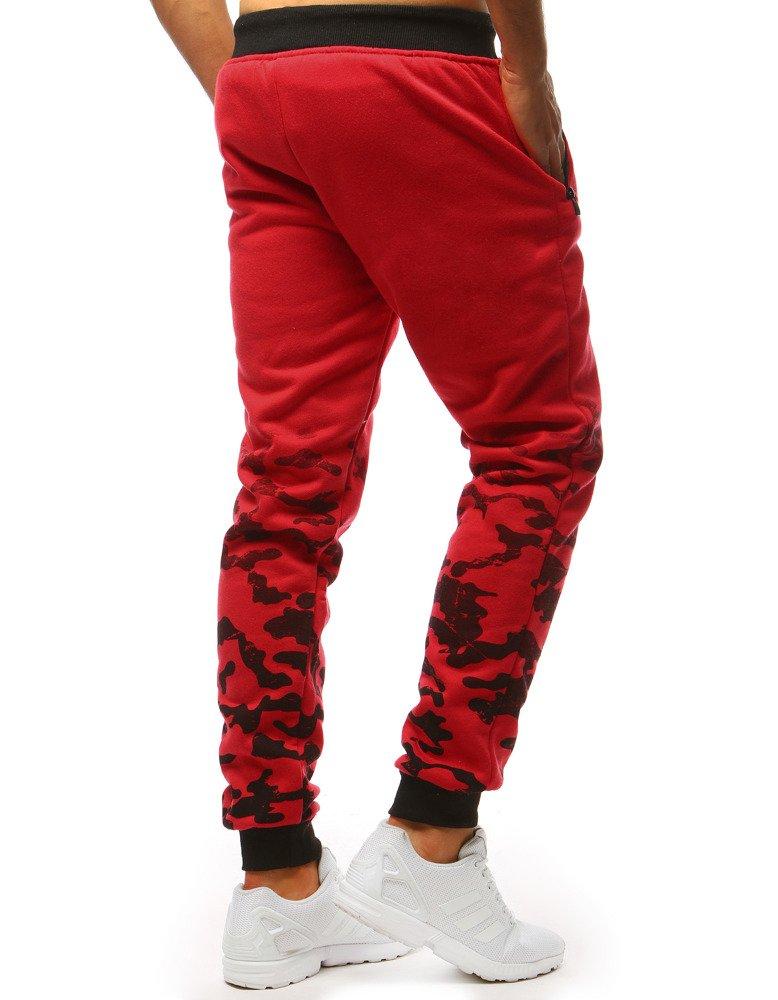 230db259a Spodnie dresowe męskie czerwone (ux1412) - sklep online Dstreet.pl