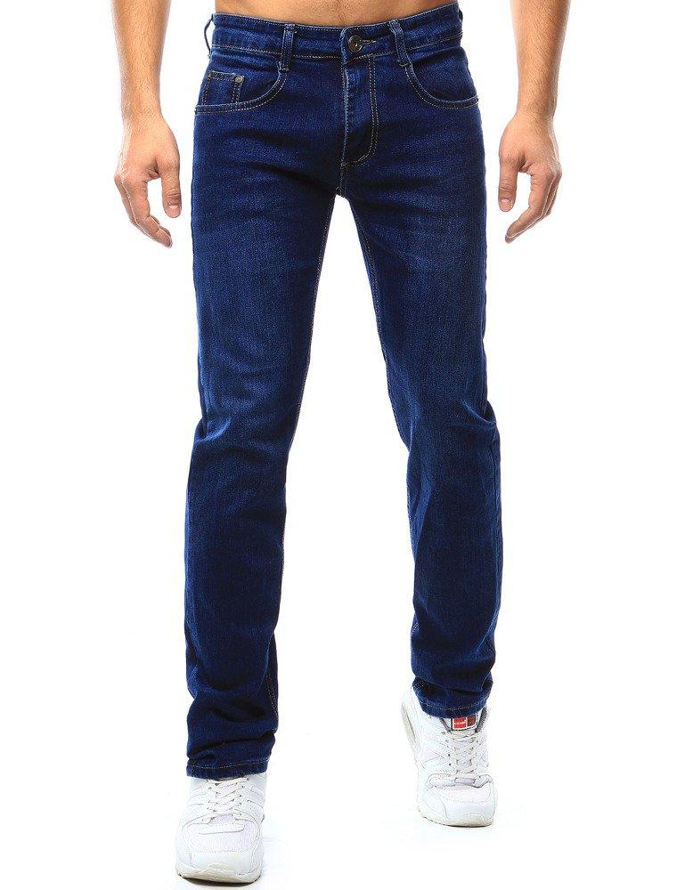 b0550eb4d7 Spodnie jeansowe męskie niebieskie (ux1061) - sklep online Dstreet.pl