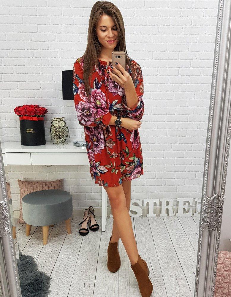 5adba77c4c Sukienka MARIPOSA czerwona (ey0471) - sklep online Dstreet.pl