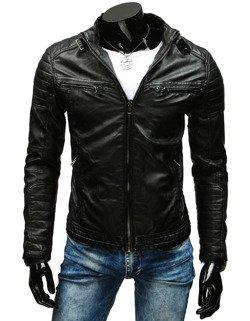 b34007567fa36 Kurtka skórzana męska czarna (tx1660A) - sklep online Dstreet.pl