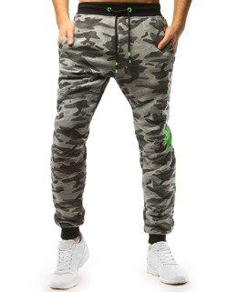 b9b4818d799f1c Spodnie męskie dresowe moro szare (ux1660) - sklep online Dstreet.pl