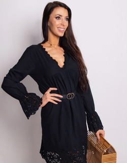 07b6aa07 Sukienka CALM czarna (ey0748)